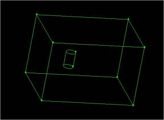 圆柱绕流三维网格怎么画图片